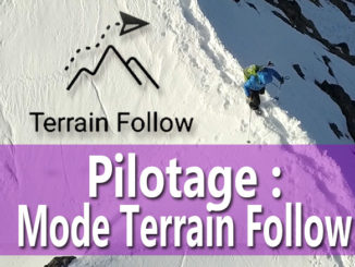 le mode terrain follow