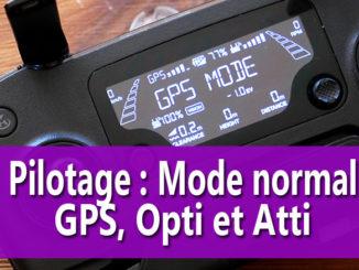 Modes de pilotage Atti OPti et GPS
