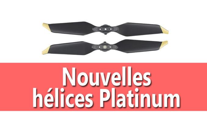 nouvelles hélices platinum mavic